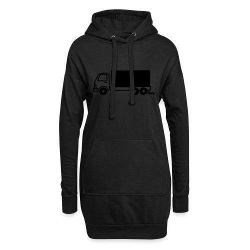 LKW lang - Hoodie-Kleid