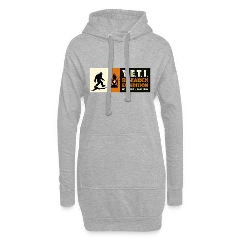 A la recherche du Yeti - Sweat-shirt à capuche long Femme