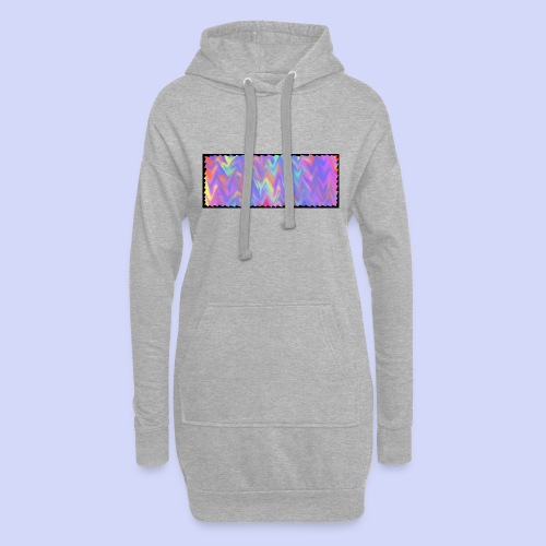 faded colors - evening cup - Hoodie-kjole