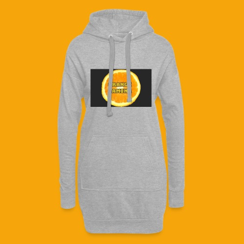 Orange_Logo_Black - Hoodie Dress