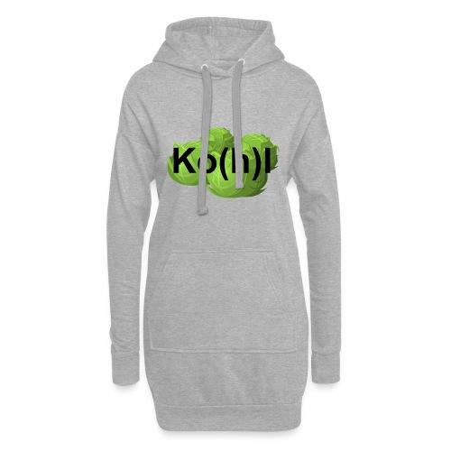 Ko(h)l - Hoodie-Kleid