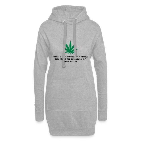 Cannabis - Hoodie-Kleid