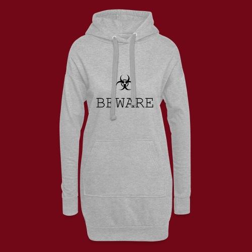 beware - Hoodie-Kleid