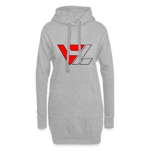vusionZ | Peace - Hoodie-Kleid