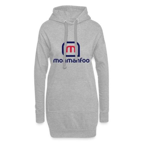 Moamanfoo - Sweat-shirt à capuche long Femme