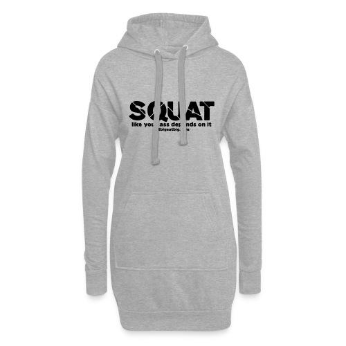 squat - Hoodie Dress
