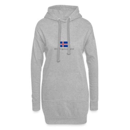 Iceland - Hoodie Dress