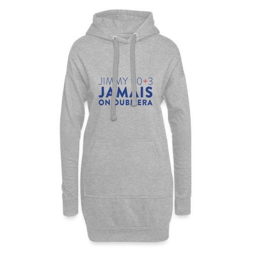 Jimmy 90+3 : Jamais on oubliera - Sweat-shirt à capuche long Femme