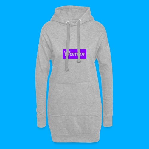 Wamen T-Shirt Design - Hoodie Dress