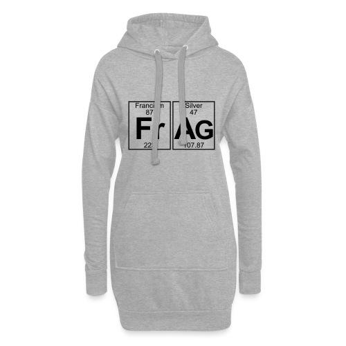 Fr-Ag (frag) - Full - Hoodie Dress