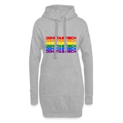 Rainbow Flag Johntastisch - Hoodie-Kleid