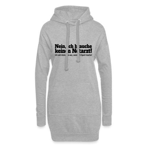 Sport Spruch - Hoodie-Kleid