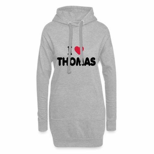 I love Thomas - Hoodie-Kleid