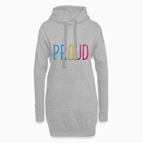 Proud Pansexual - Hoodie Dress