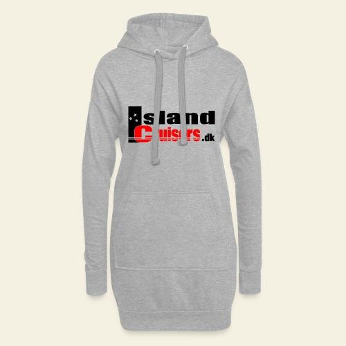 Island cruisers black - Hoodie-kjole