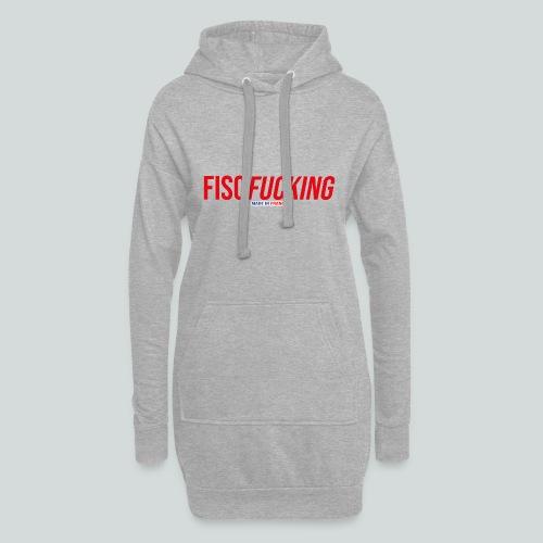 FISCFUCKING Made in France - Sweat-shirt à capuche long Femme
