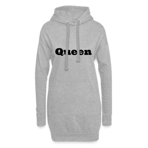 Snapback queen rood/zwart - Hoodiejurk