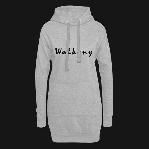 Walkeny Schriftzug - Hoodie-Kleid