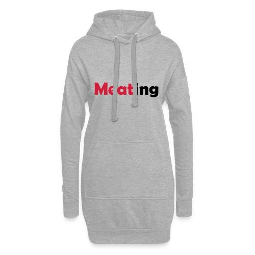 Meating - Hoodie-Kleid