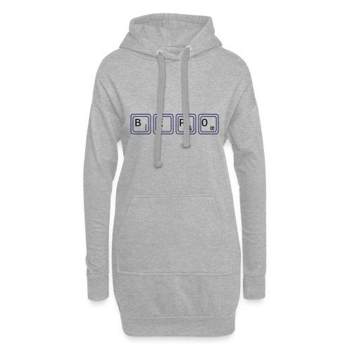 bépo - Sweat-shirt à capuche long Femme