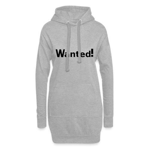 Wanted. schwarz - Hoodie-Kleid