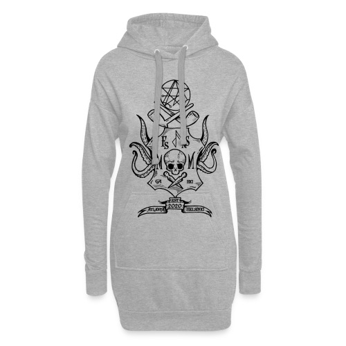Frost Pipes & Misfits And Makers - Hoodie Dress