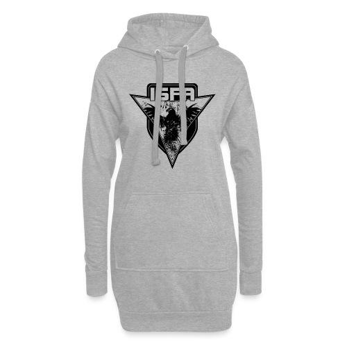 isfa logo 1c schwarz - Hoodie-Kleid