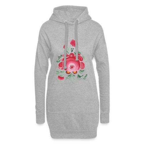 Ostfriesische Rose - Hoodie-Kleid