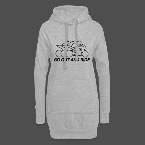 go out and ride superbike - Hoodie Dress