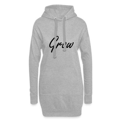 Grow - Hoodie-Kleid