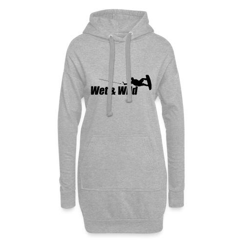 WETWILD BLACK - Hoodie-Kleid
