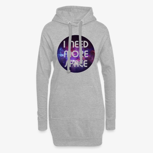 I need more Space - Hoodie-Kleid