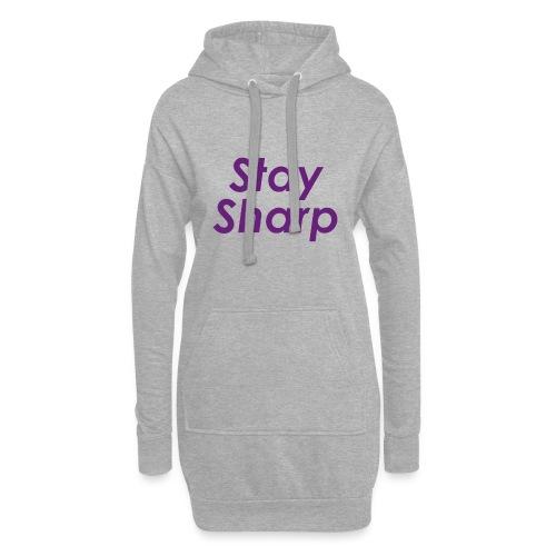 Stay Sharp - Vestitino con cappuccio