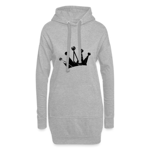 Faded crown - Hoodie Dress