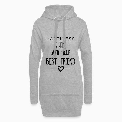 Happiness black edition - Hoodie Dress