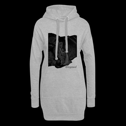 Beyond a relaxed horse - Hoodie-Kleid