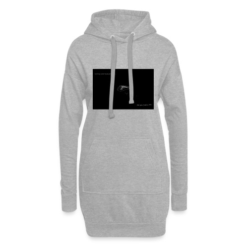 Lost Ma Heart - Hoodie Dress