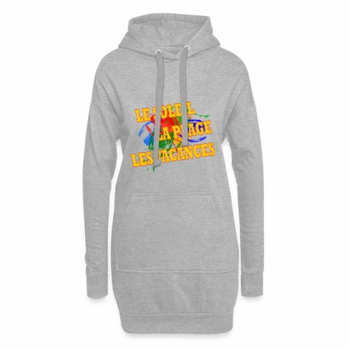 Soleil, plage, vacances - Hoodie Dress