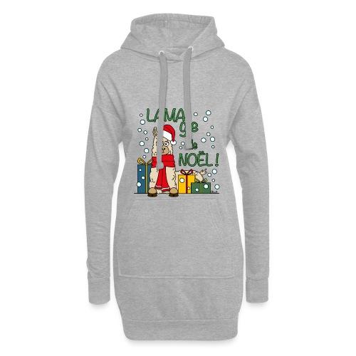 Lama, Magie de Noël, Happy Christmas, Pull moche - Sweat-shirt à capuche long Femme