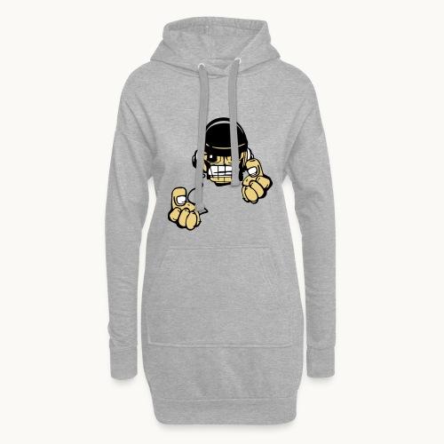 Micky DJ - Sweat-shirt à capuche long Femme