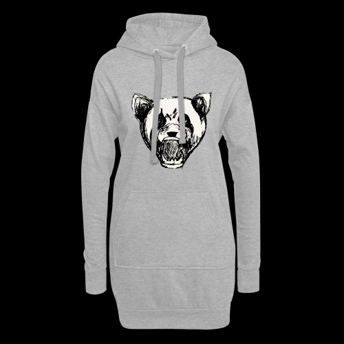 NatureRebellion Panda - Sweat-shirt à capuche long Femme