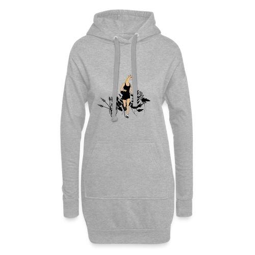 Girafe - Sweat-shirt à capuche long Femme