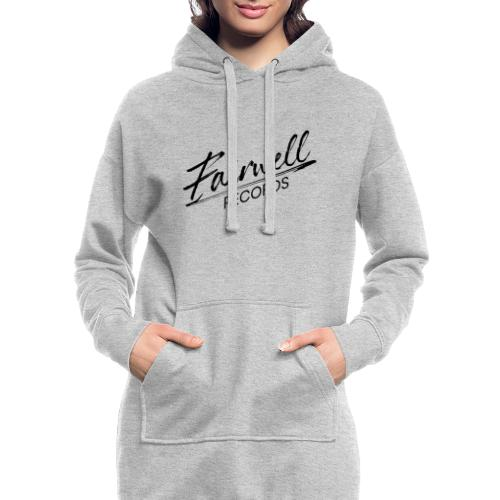 Fairwell Records - Black Collection - Hoodie-kjole