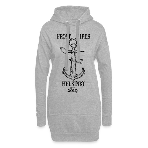 Frost Pipes Anchor - Hoodie Dress