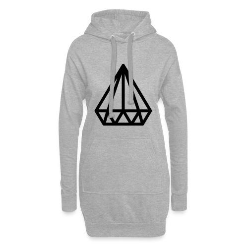 Dropchainers T-Shirt V Auschnitt - Hoodie-Kleid