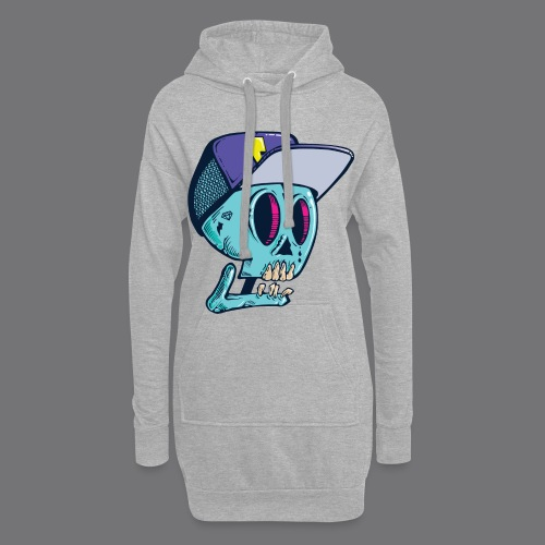 Death Tee Shirts - Hoodie Dress