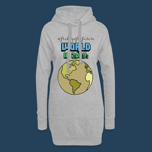 World in 2029 #fridaysforfuture #timetravelcontest - Hoodie-Kleid