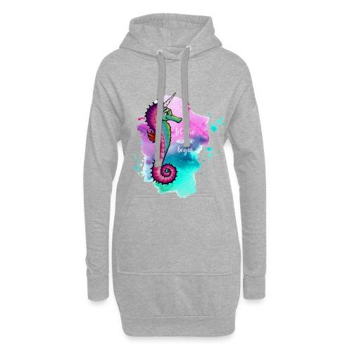 Seahorse-Unicorn - Hoodie-Kleid