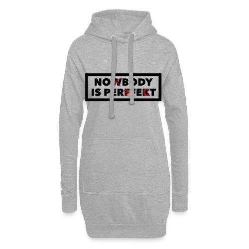 Nobody is perfekt - Hoodie-Kleid