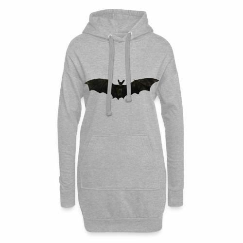 Fliegende Fledermaus - Hoodie-Kleid